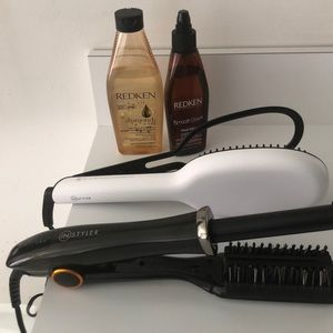 Bundle 2 Instyler Irons & Redken products